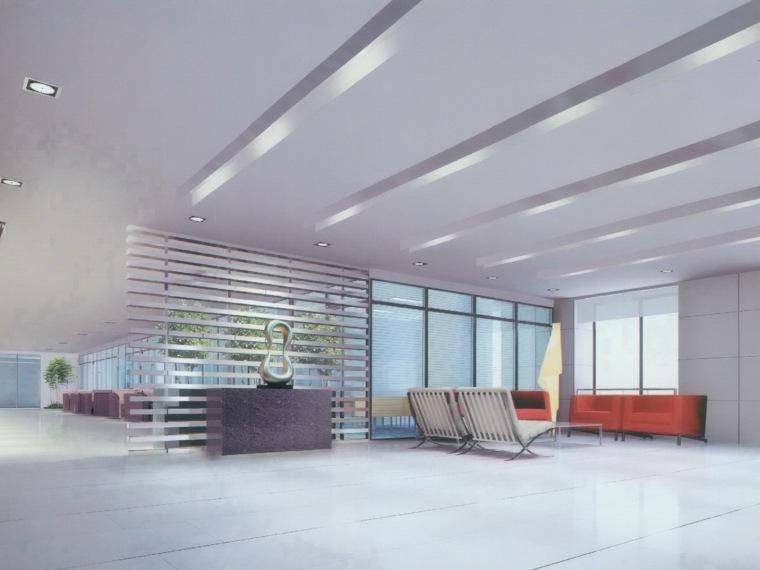 成都高新区国税局室内设计