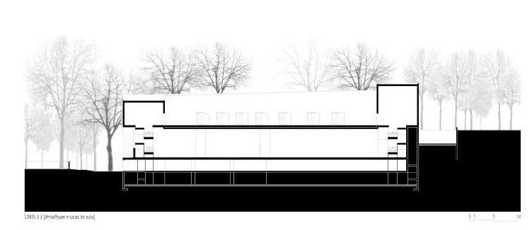 剖面图02 section 02-里斯本音乐学院第4张图片