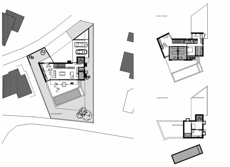 平面图 plan-圣维塔莱河住宅第17张图片