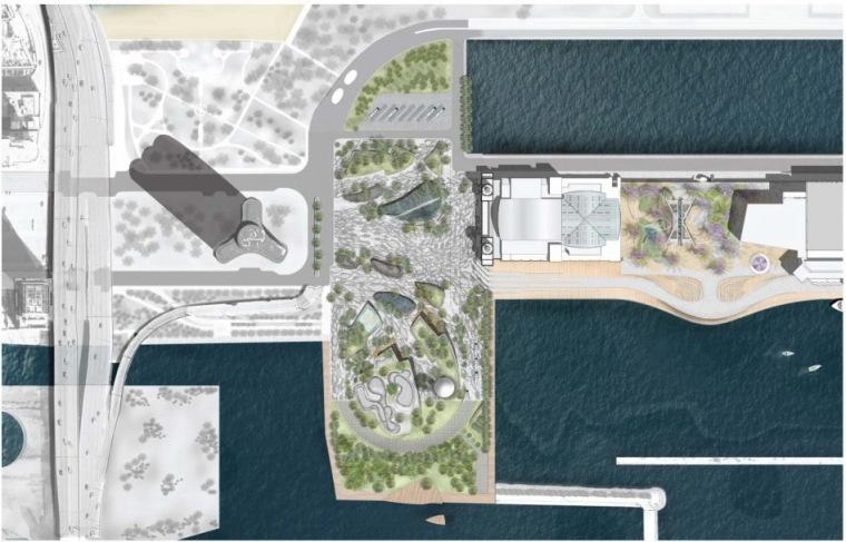 平面图01 Plan01-芝加哥海军码头重建方案第3张图片