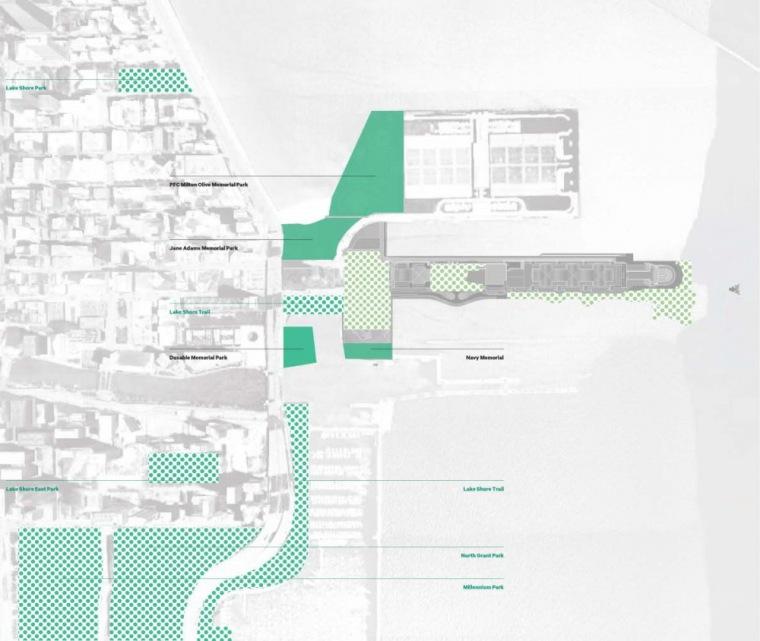 平面图04 Plan04-芝加哥海军码头重建方案第6张图片