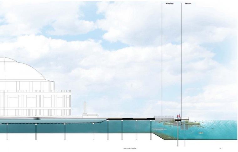 剖面图04 Section04-芝加哥海军码头重建方案第11张图片
