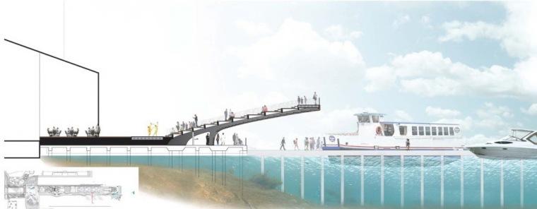 剖面图07 Section07-芝加哥海军码头重建方案第14张图片