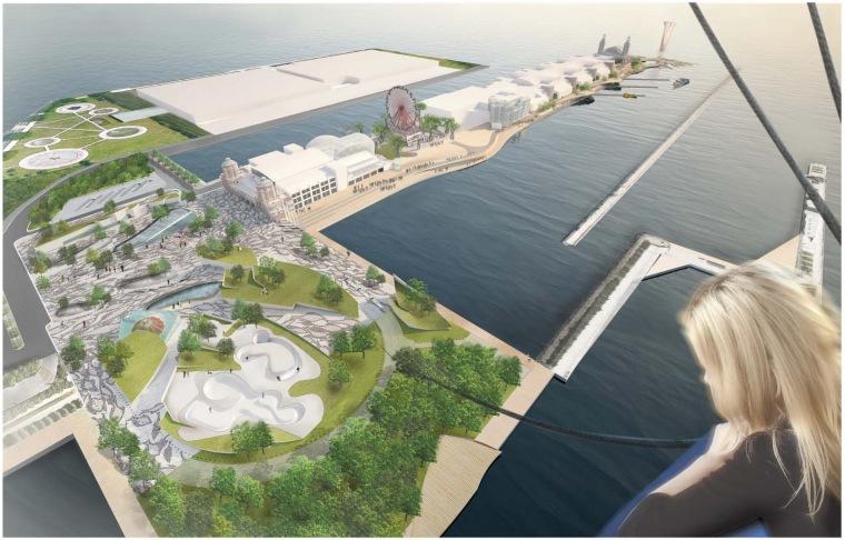 芝加哥海军码头重建方案第27张图片