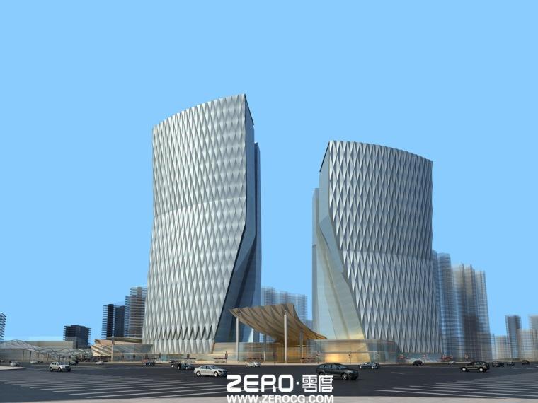 北京零度数字科技有限公司室外效果图