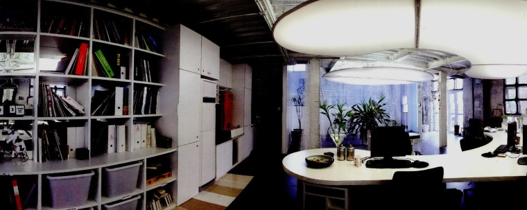 立和空间设计事务所办公室第3张图片