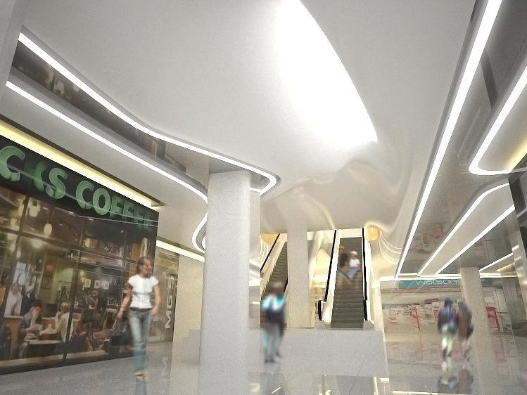 广州印潮商城室内设计