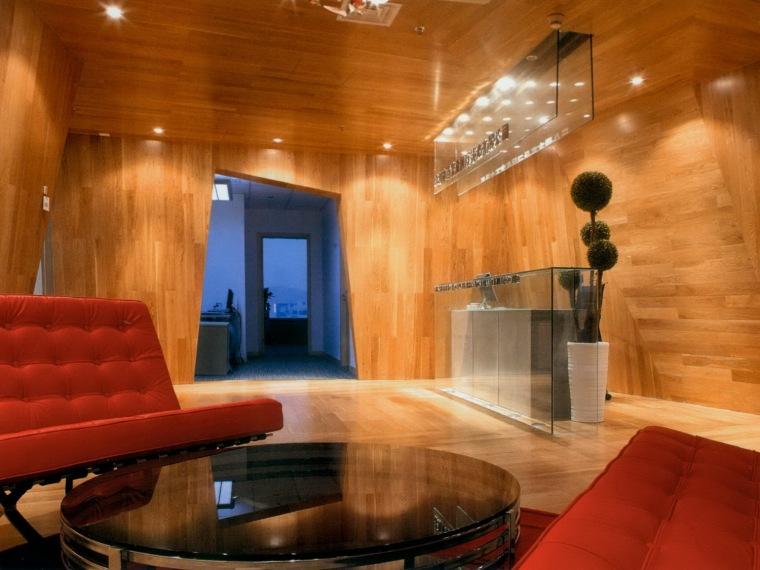 木墙板办公室