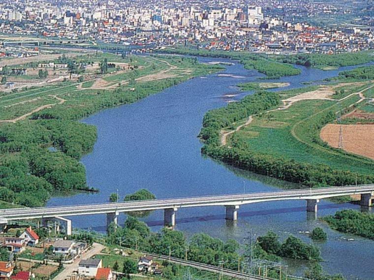 旭川市河滨地区