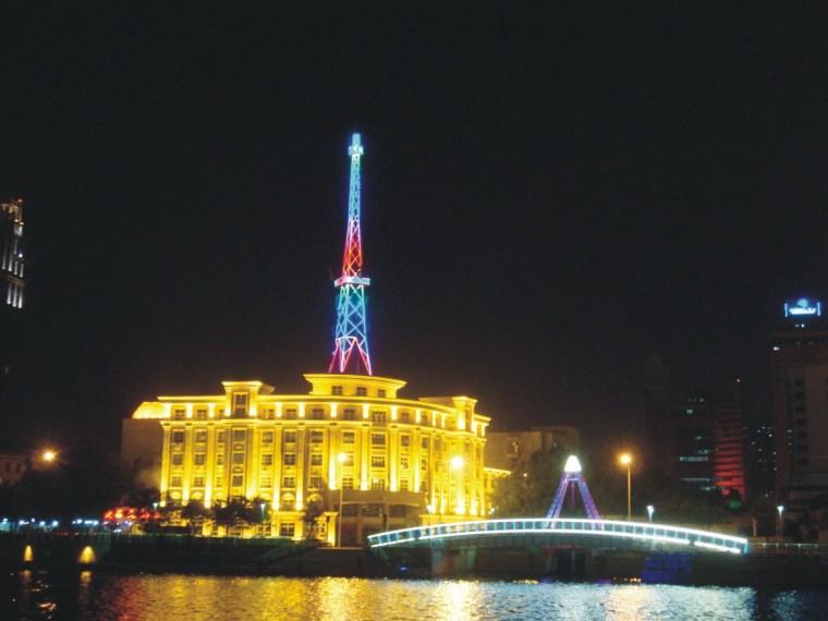 天津海河城市景观亮化项目