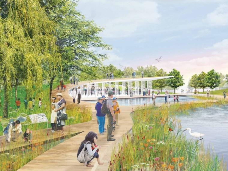 国家广场设计竞赛之宪法花园——露天自然博物馆