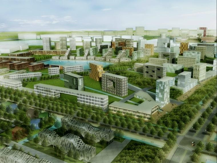 新津水城规划