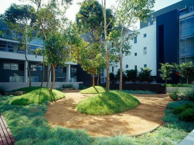庭院庭院设计资料下载-住宅区庭院设计