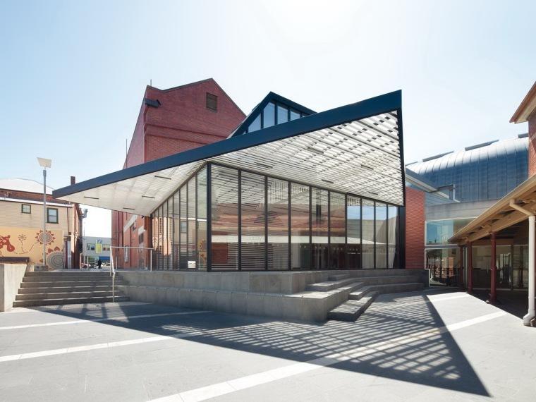 巴拉腊特艺术画廊附属建筑