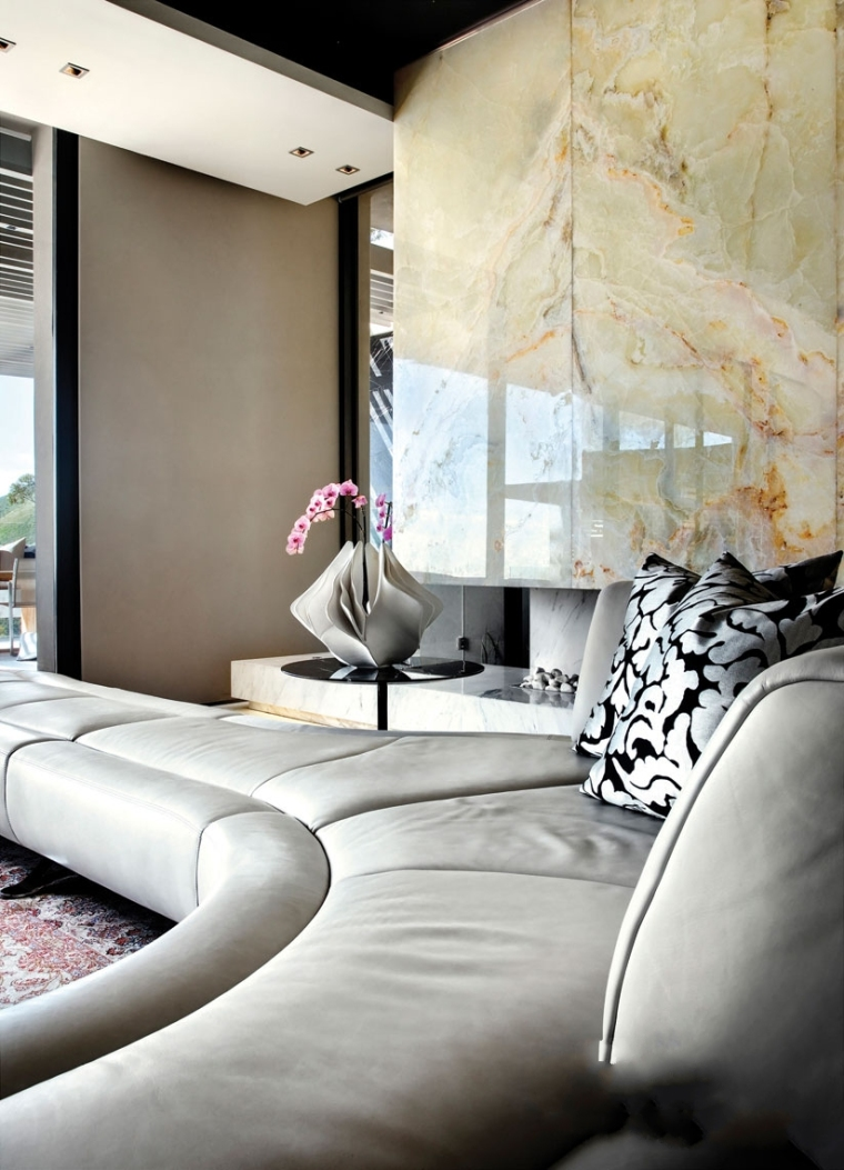 5-时尚奢华的现代别墅第6张图片