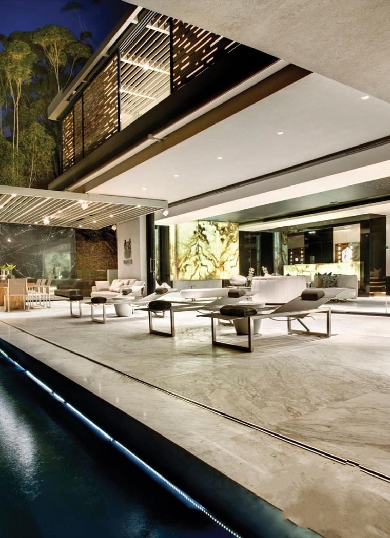 13-时尚奢华的现代别墅第14张图片