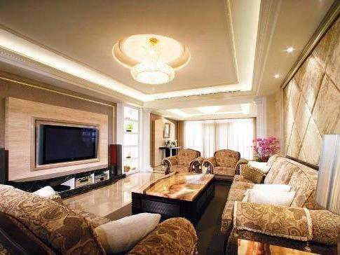 美式室内风格客厅