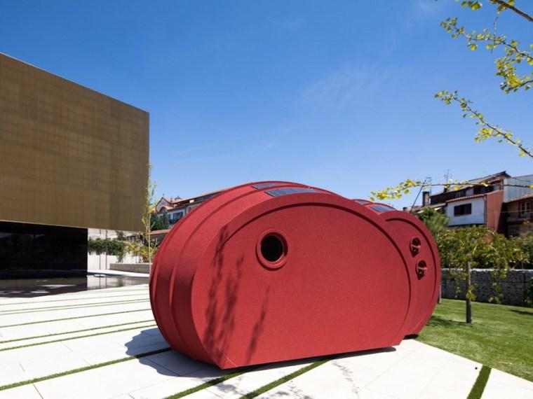 雕塑式模块化住宅