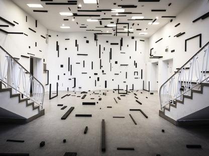 现代艺术空间作品