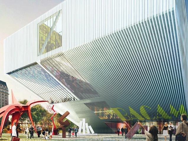 布宜诺斯艾利斯当代艺术博物馆一等奖方案