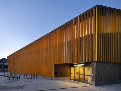 Vennesla图书馆资料下载-Vennesla图书馆和文化中心