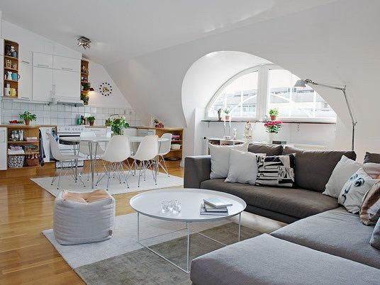 阁楼式公寓