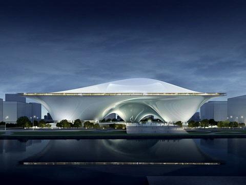 中国国家美术馆新馆竞赛方案之一第1张图片