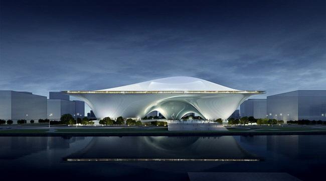 中国国家美术馆新馆竞赛方案之一第2张图片