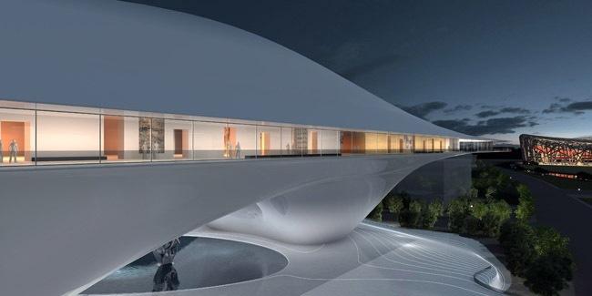 中国国家美术馆新馆竞赛方案之一第3张图片