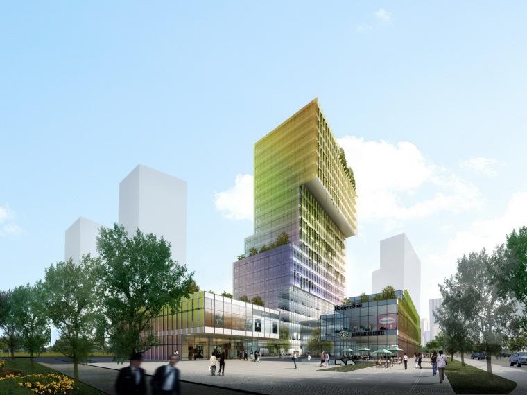 张江企业孵化大楼第1张图片