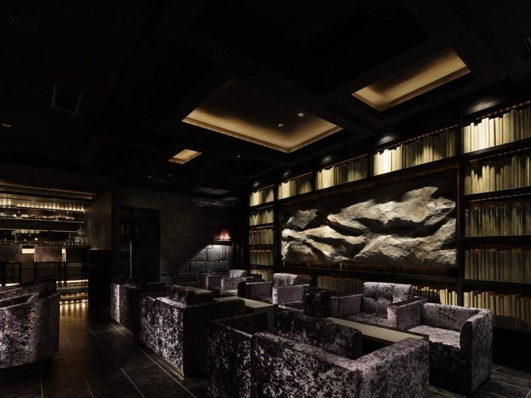 vip休息室平面图资料下载-会员制酒吧兼休息室