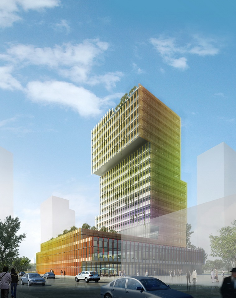 张江企业孵化大楼第3张图片