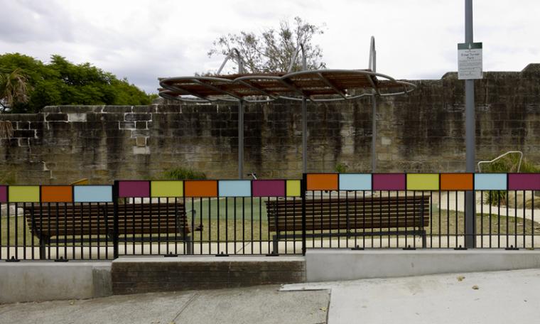 伊则尔·特纳街心公园 第4张图片