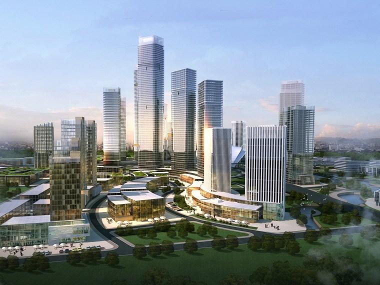青岛高新区城市空间形态及建筑主体风格专题