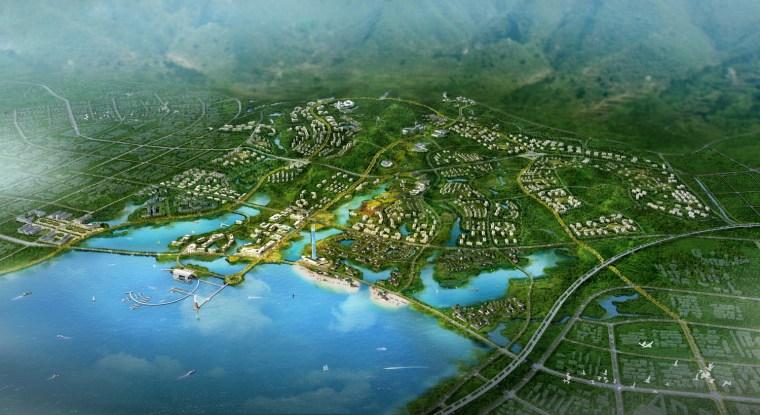 九江市八里湖新区生态组团概念规划设计第2张图片