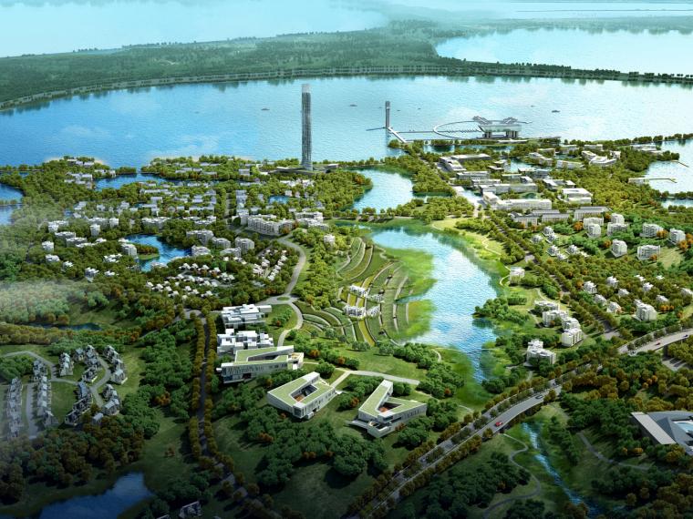 九江市八里湖新区生态组团概念规划设计第3张图片