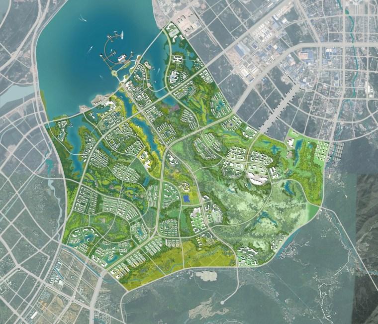 九江市八里湖新区生态组团概念规划设计第5张图片