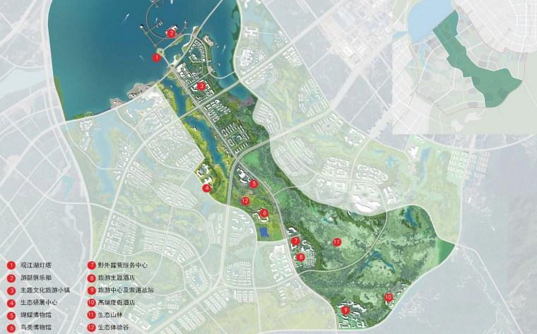 九江市八里湖新区生态组团概念规划设计第6张图片