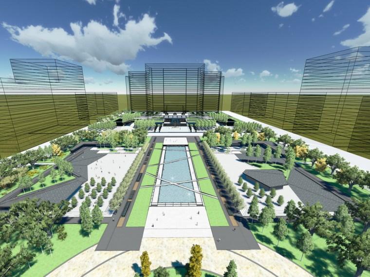潍坊滨海中央商务区(CBD)公共绿地规划设计