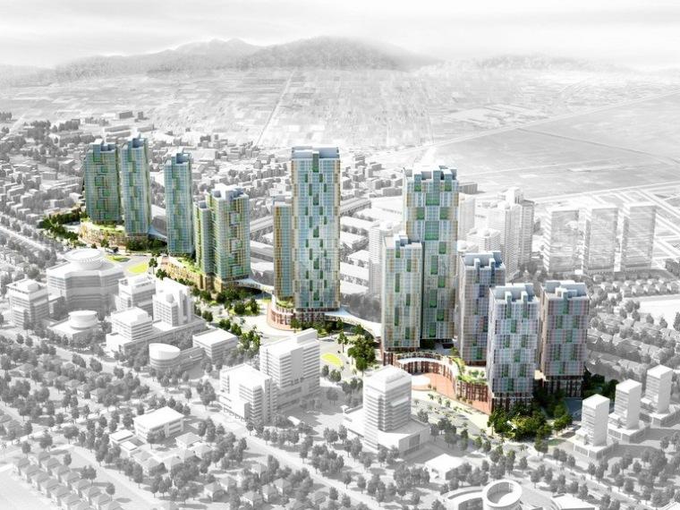 U形绸带城市规划第1张图片