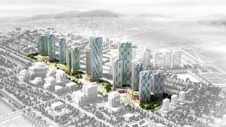 U形绸带城市规划第2张图片