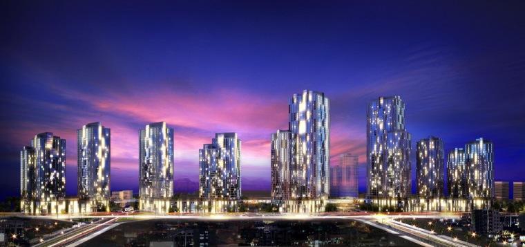 U形绸带城市规划第3张图片