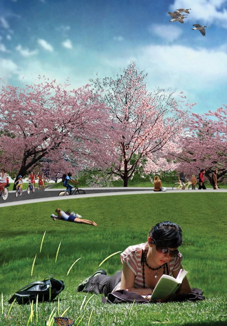 2012年ASLA奖分析与规划奖 总督岛公园及公共空间设计第13张图片