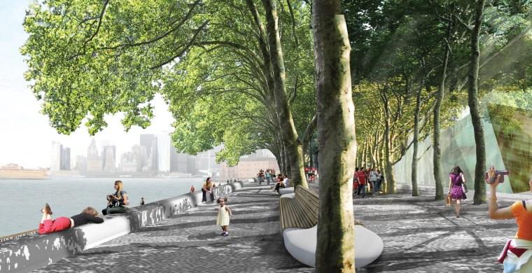 2012年ASLA奖分析与规划奖 总督岛公园及公共空间设计第14张图片