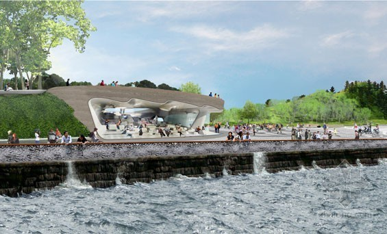 2012年ASLA奖分析与规划奖 总督岛公园及公共空间设计第16张图片