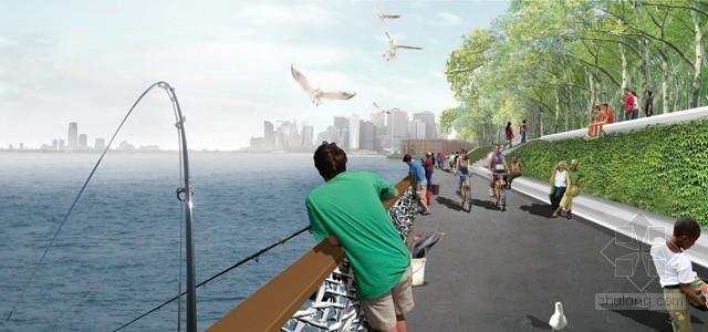 2012年ASLA奖分析与规划奖 总督岛公园及公共空间设计第19张图片