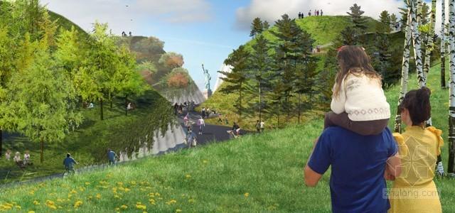 2012年ASLA奖分析与规划奖 总督岛公园及公共空间设计第20张图片