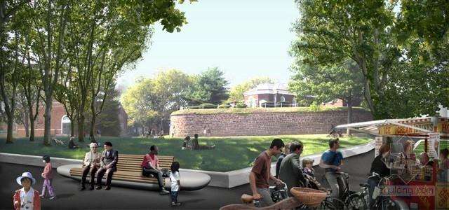 2012年ASLA奖分析与规划奖 总督岛公园及公共空间设计第21张图片
