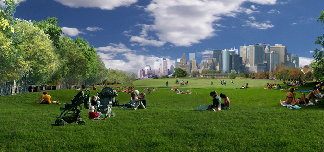 2012年ASLA奖分析与规划奖 总督岛公园及公共空间设计第24张图片
