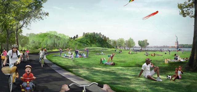 2012年ASLA奖分析与规划奖 总督岛公园及公共空间设计第25张图片